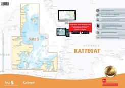 Sportbootkarten Satz 5: Kattegat (Ausgabe 2020)