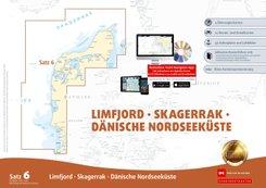 Sportbootkarten Satz 6: Limfjord - Skagerrak - Dänische Nordseeküste (Ausgabe 2020)