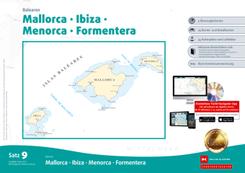 Sportbootkarten Satz 9: Balearen (Ausgabe 2020)