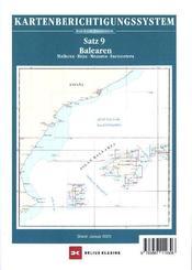 Berichtigung Sportbootkarten Satz 9: Balearen (Ausgabe 2020)