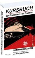 Kursbuch der Deutschen Reichsbahn Sommerfahrplan 1968