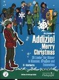 """Addizio! Merry Christmas """"36 Weihnachtslieder für Bläser in Klassen, Gruppen, Ensembles"""", B-Klarinette"""