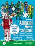 """Addizio! Merry Christmas """"36 Weihnachtslieder für Bläser in Klassen, Gruppen, Ensembles"""", Bassschlüsselheft"""