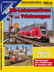 DB-Lokomotiven und Triebwagen - Stand 1. Juli 2020