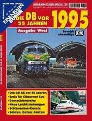 Die DB vor 25 Jahren - 1995 Ausgabe West