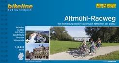 Bikeline Radtourenbuch Altmühl-Radweg