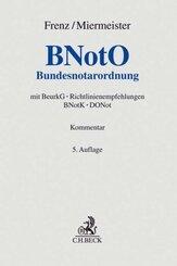BNotO, Bundesnotarordnung, Kommentar