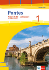 Pontes Gesamtband. Ausgabe 2020: Arbeitsheft Klasse 5 mit Mediensammlung 1. Lernjahr