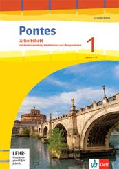 Pontes Gesamtband. Ausgabe 2020: Arbeitsheft mit Mediensammlung und Vokabeltrainer 1. Lernjahr