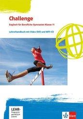Challenge. Englisch für Berufliche Gymnasien. Bundesausgabe - Lehrerhandbuch mit Video-DVD und Audio-CD, MP3