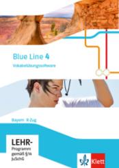 Blue Line, Ausgabe Mittelschule Bayern 2017: 8. Klasse, Vokabelübungssoftware R-Zug; 4