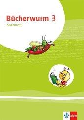 Bücherwurm Sachunterricht. Ausgabe ab 2019: 3. Klasse, Sachheft Brandenburg, Mecklenburg-Vorpommern, Sachsen-Anhalt