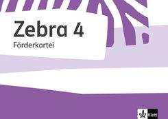 Zebra. Ausgabe ab 2018: 4. Schuljahr, Förderkartei