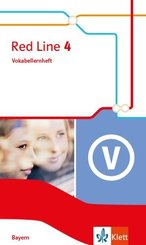 Red Line. Ausgabe für Bayern ab 2017: 8. Klasse, Vokabellernheft