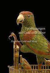 Farbfassungen auf Gold und Silber / Paints on Gold and Silver