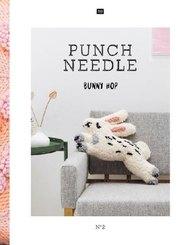 Punch Needle Bunny Hop - No.2