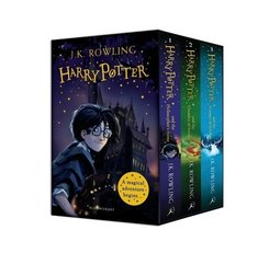 Harry Potter 1-3 Box Set: A Magical Adventure Begins...