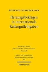 Herausgabeklagen in internationale Kulturgutleihgaben; Buch XXXII