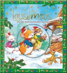 Leo Lausemaus und die Weihnachtsüberraschung, m. Audio-CD