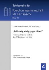 """""""Seid einig, einig gegen Hitler!"""""""