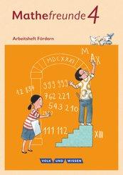 Mathefreunde, Ausgabe Nord/Süd 2015: 4. Schuljahr, Arbeitsheft Fördern