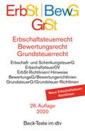 Erbschaftsteuerrecht (ErbSt) / Bewertungsrecht (BewG) / Grundsteuerrecht (GrSt)