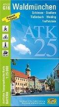ATK25-G16 Waldmünchen (Amtliche Topographische Karte 1:25000)