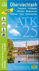 ATK25-G15 Oberviechtach (Amtliche Topographische Karte 1:25000)