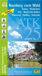 ATK25-H15 Neunburg vorm Wald (Amtliche Topographische Karte 1:25000)