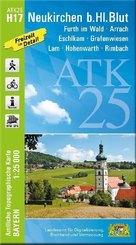 ATK25-H17 Neukirchen b.Hl.Blut (Amtliche Topographische Karte 1:25000)