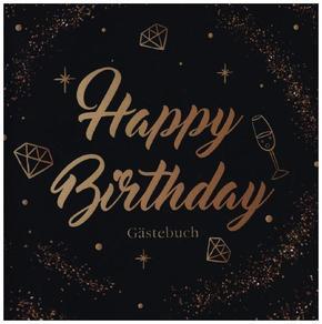 Happy Birthday Gästebuch