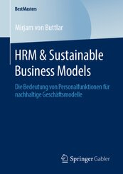 HRM & Sustainable Business Models