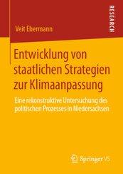 Entwicklung von staatlichen Strategien zur Klimaanpassung