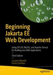 Beginning Jakarta EE Web Development