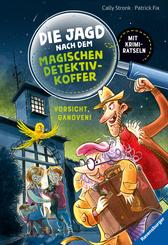 Die Jagd nach dem magischen Detektivkoffer: Vorsicht, Ganoven!