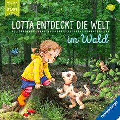 Lotta entdeckt die Welt: Im Wald