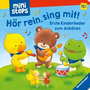 Hör rein, sing mit! Erste Kinderlieder zum Anhören.