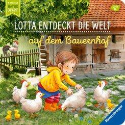 Lotta entdeckt die Welt: Auf dem Bauernhof