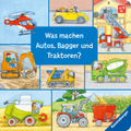 Was machen Autos, Bagger und Traktoren?