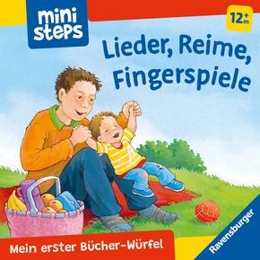 Mein erster Bücher-Würfel: Lieder, Reime, Fingerpiele (Bücher-Set); .