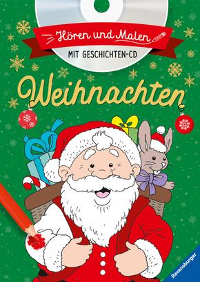 Hören und Malen: Weihnachten, m. Audio-CD