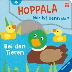 Hoppala, wer ist denn da? Bei den Tieren