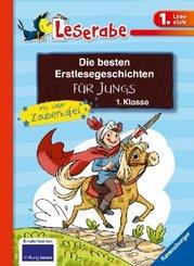 Leserabe - Sonderausgaben: Die besten Erstlesegeschichten für Jungs 1. Klasse mit toller Zaubertafel