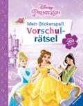 Mein Stickerspaß Disney Prinzessin: Vorschulrätsel