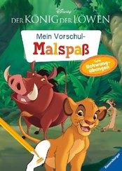 Disney Der König der Löwen: Mein Vorschulmalspaß. Tolle Schwungübungen