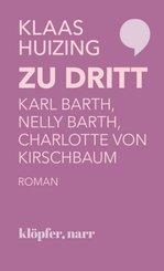 Zu dritt. Karl Barth, Nelly Barth, Charlotte von Kirschbaum; .