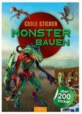Coole Sticker - Monster bauen