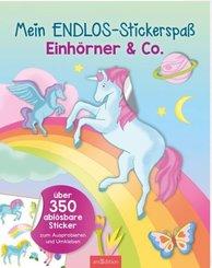 Mein Endlos-Stickerspaß Einhörner & Co.