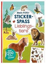 Mein Foto-Stickerspaß - Lieblingstiere