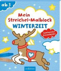 Mein Streichel-Malblock Winterzeit